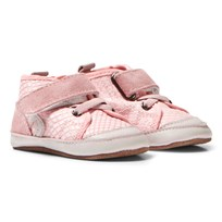 Melton High Top Crib Shoes Chintz Rose Chintz Rose