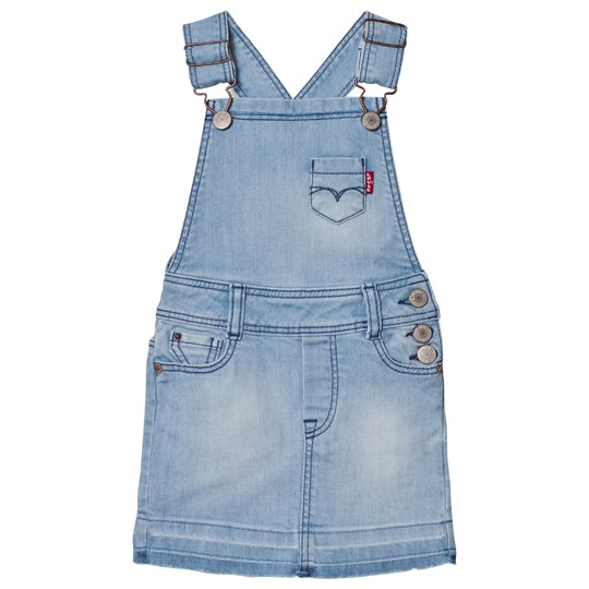 Levis Kids Light Wash Dungaree Dress 46