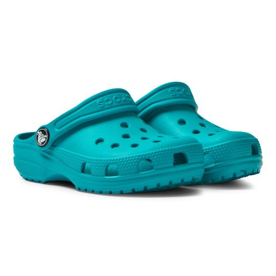 Crocs Turquoise Classic Clogs Turquoise