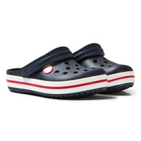 Crocs Crocband Clog Navy And Red Navy/Red