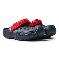 Crocs Navy and Red Swiftwater Clog 4BA Navy/Flame