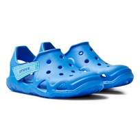 Crocs Swiftwater Wave Skor Solid Blue 456 Ocean