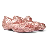 Crocs Blossom Infants Isabella Glitter Shoes 682 Blossom