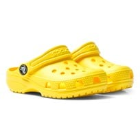 Crocs Yellow Classic Clogs 7C1 Lemon