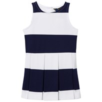 Ralph Lauren Navy and White PP Ponte Dress 001