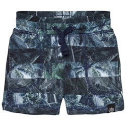 Molo Ajaz Shorts Camo Palm Stripes