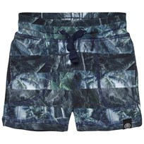 Molo Ajaz Shorts Camo Palm Stripes Camo Palm Stripe