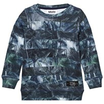 Molo Marton Sweatshirt Camo Palm Stripe Camo Palm Stripe