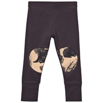 Papu Charcoal Patch Leggings Grey Grey