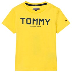 Tommy Hilfiger Yellow Navy Branded Tee