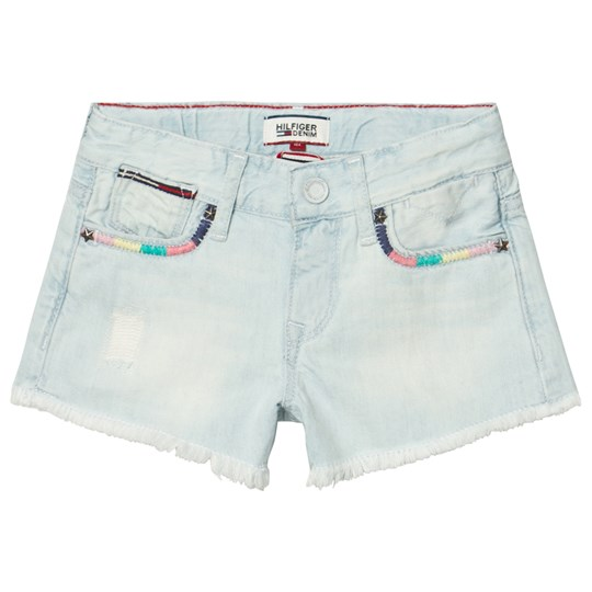 Tommy Hilfiger Bleached Denim Shorts 911