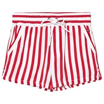 Tommy Hilfiger Red and White Shorts 699