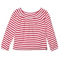 Tommy Hilfiger Red Off The Shoulder Top 699
