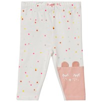 Billieblush White Cat and Multi Spot Leggings 105