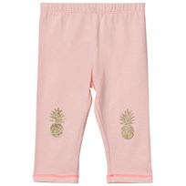 Billieblush Pale Pink Glitter Pinapple Print Leggings 447