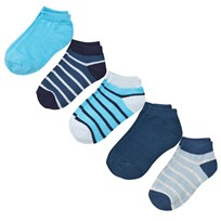 Melton Numbers 5-pack Footies - Mix Stellar Stellar