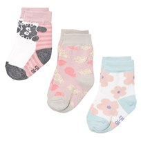 Melton 3-pk Socks Baby Girl Lurex Baby Girl