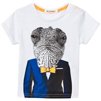Billybandit White Lizard Dude Print Tee 791