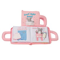 oskar&ellen Good Night Book Pink Swedish Pink