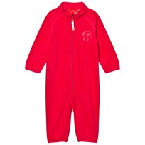 Reima Fleece Overall, Kiesu Strawberry Red Strawberry red