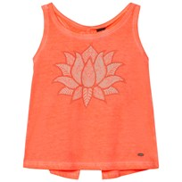 Oneill Fluoroescent Peach Cooler Graphic Tank Top FLUORO PEACH