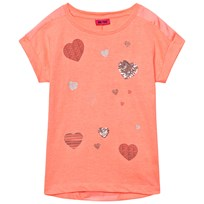 Me Too Kitt 253 -Tunic SS  Bright Coral Bright Coral