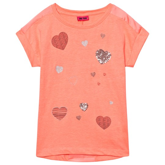 Me Too Kitt Tunic Bright Coral Bright Coral