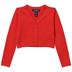 Lands' End Orange Sophie Cardigan