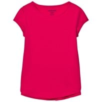 Lands' End Pink A-Line Core Knit Tee Hot Pink