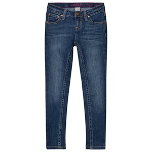 Image of Lands End Blue Skinny Jeans 7 years (2743790753)