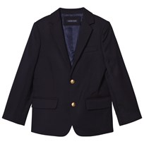 Lands' End Navy Wool Blazer CLASSIC NAVY