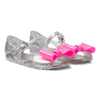Billieblush Glitter Jelly Pumps Pink Bow Z94