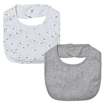 Noa Noa Miniature Boy Basic 2-pack Bib Blue Blue