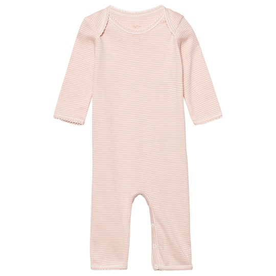 Noa Noa Miniature Basic Striped Baby One-Piece Evening Sand Evening Sand