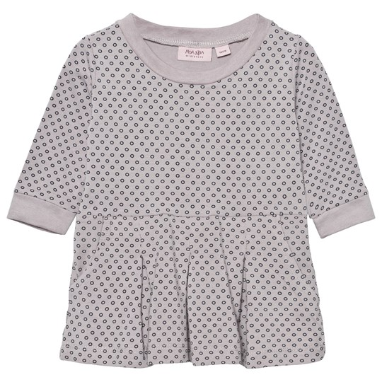 Noa Noa Miniature Dress Printed Gull Gray Gull Gray