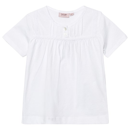 Noa Noa Miniature Mini Basic Top Organic Jersey White White