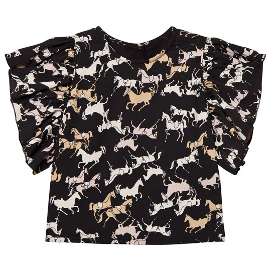 How To Kiss A Frog Lua Blouse Blk Horse blk horse
