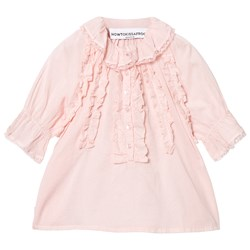 How To Kiss A Frog Mimi Blouse Powder