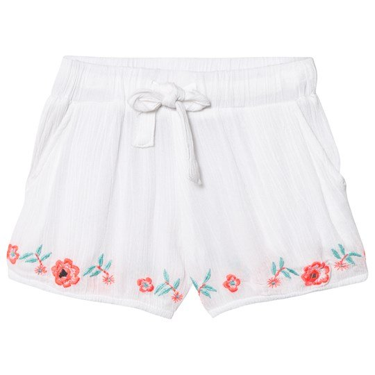 How To Kiss A Frog Dee Shorts White - Embroidery WHITE-embroidery