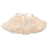 DOLLY by Le Petit Tom Princess Ivory Pettiskirt Cream Cream