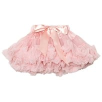 DOLLY by Le Petit Tom Queen Of Roses Pettiskirt Kjol Rose Pink Rose Pink