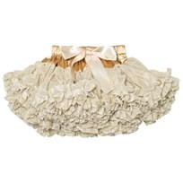 DOLLY by Le Petit Tom Glitter Pettiskirt Gold Gold
