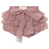 DOLLY by Le Petit Tom Frilly Byxor Mauve MAUVE
