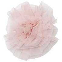 DOLLY by Le Petit Tom Chiffon Hair Rosette Pink