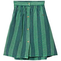 Bobo Choses Striped Midi Skirt Mint Mint