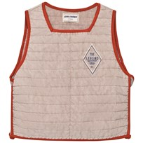 Bobo Choses John Baseball Vest Off Rose Off Rose