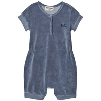 Bobo Choses Mr. Badminton Terry Romper Cloud Blue cloud blue