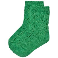 Bobo Choses Baby Short Jacquard Socks Green Mint Mint