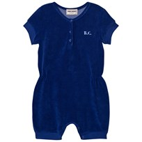 Bobo Choses B.C. TEAM Terry Romper Mazarine Blue Mazarine Blue