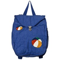 Bobo Choses Patch Padded Backpack Mazarine Blue Mazarine Blue